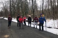 Chemin forestier Saint-Gérard des Laurentides 27 Mars 2021